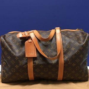 Genuine & Authentic Louis Vuitton Sac Souple 45